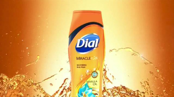 Dial Miracle Oil Body Wash TV Spot, 'Restorative Power' - Thumbnail 4