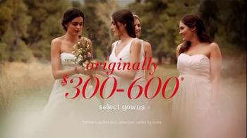 David's Bridal TV Spot, 'The Biggest Bridal Sale of the Year' - Thumbnail 2