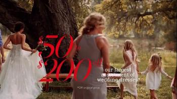 David's Bridal TV Spot, 'The Biggest Bridal Sale of the Year' - Thumbnail 4