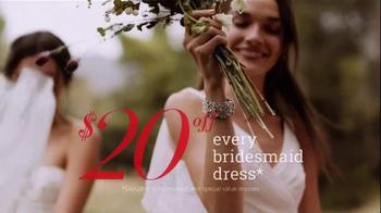 David's Bridal TV Spot, 'The Biggest Bridal Sale of the Year' - Thumbnail 6