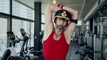 Hotels.com Spring Break Sale TV Spot, 'Captain Obvious Workout: Leg Lift' - Thumbnail 1