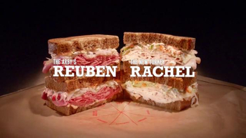 Arby's TV Spot, 'Rachel and Reuben, Two Very Good Things' - 1318 commercial airings