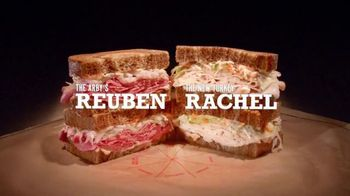Arby's TV Spot, 'Rachel and Reuben, Two Very Good Things'