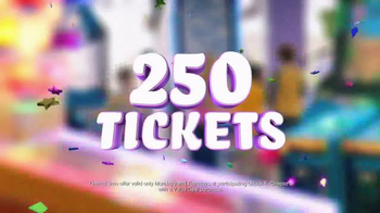 Chuck E. Cheese's Big Deal TV Spot, '250 Tickets Free' - Thumbnail 4