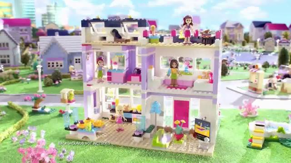 Lego Friends Emmas House Tv Commercial Surprise Party Ispottv