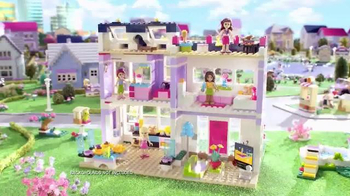 LEGO Friends Emma's House TV Spot, 'Surprise Party'