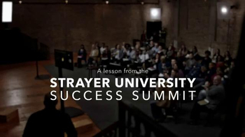 Strayer University TV Spot, 'A to Z' Featuring Steve Harvey - Thumbnail 1