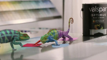 ACE Hardware TV Spot, 'Valspar: Meet the Chameleons' - 5428 commercial airings