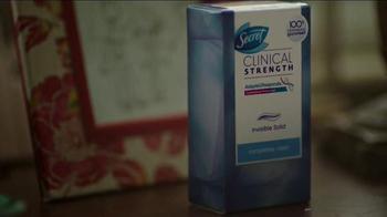 Secret Clinical Strength Deodorant TV Spot, 'A Fearless Firefighter' - Thumbnail 3