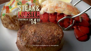 Outback Steak & Lobster TV Spot, 'Newest Creation' - Thumbnail 9