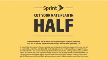 Sprint Cut Your Rate Plan in Half Event TV Spot, 'That's Incredible' - Thumbnail 7