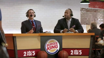 Burger King TV Spot, '2 For $5: Live Report' - Thumbnail 7