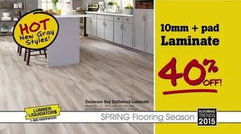 Lumber Liquidators Spring Flooring Season TV Spot, 'Hot Trends on Sale' - Thumbnail 3