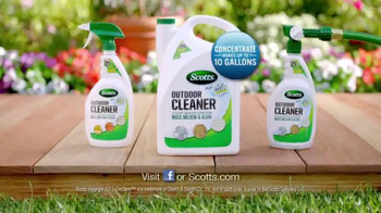 Scotts Outdoor Cleaner TV Spot, 'Filthy Patio' - Thumbnail 7