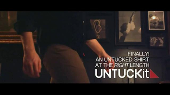 UNTUCKit TV Spot, 'Shirts Designed to Be Worn Untucked' - Thumbnail 7