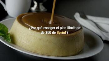 Sprint TV Spot, 'Flan: Cubierto de Ilimitado' [Spanish] - Thumbnail 2