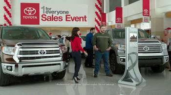 2015 Toyota Tundra TV Spot, 'One For Everyone Sales Event: Baja 1000' - Thumbnail 1