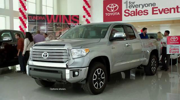 2015 Toyota Tundra TV Spot, 'One For Everyone Sales Event: Baja 1000' - Thumbnail 3