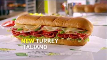 Subway Turkey Italiano Melt TV Spot, 'This is a Sandwich' - Thumbnail 9