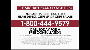 Michael Brady Lynch Firm TV Spot, 'Zofran Warning' - Thumbnail 6