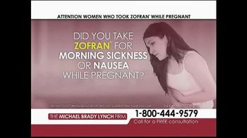 Michael Brady Lynch Firm TV Spot, 'Zofran Warning' - Thumbnail 2