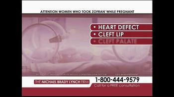 Michael Brady Lynch Firm TV Spot, 'Zofran Warning' - Thumbnail 3