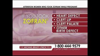 Michael Brady Lynch Firm TV Spot, 'Zofran Warning' - Thumbnail 5