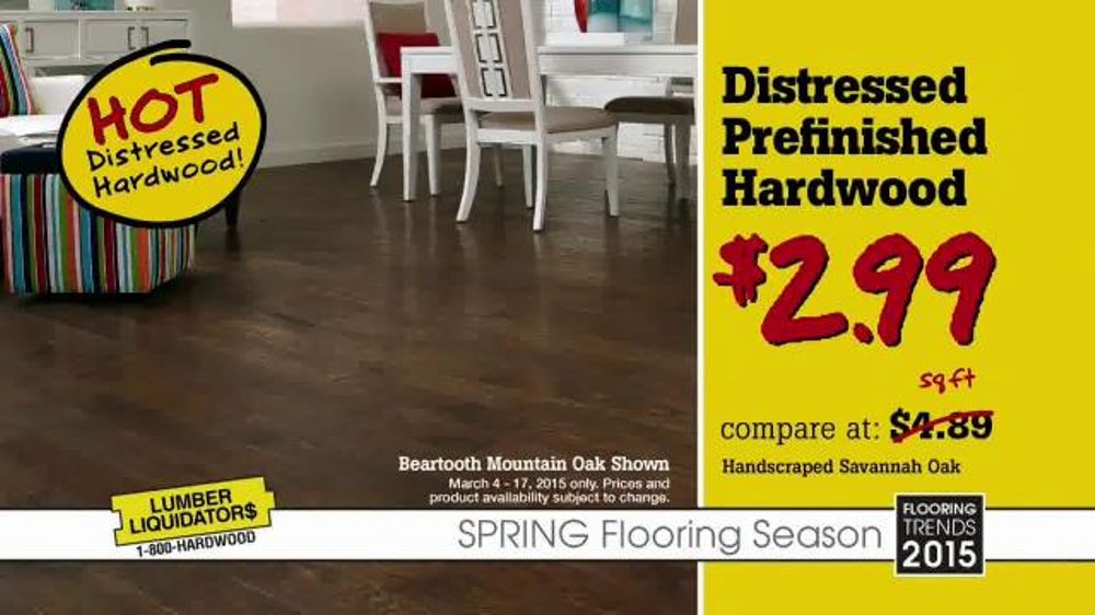 Lumber Liquidators Spring Flooring Season Tv Commercial