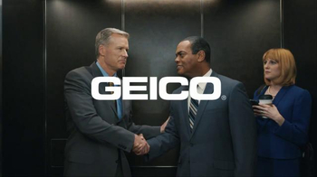 GEICO TV Spot, 'Elevator: Unskippable'