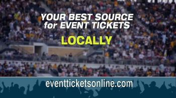 Event Tickets TV Spot, 'Save, Save, Save!'