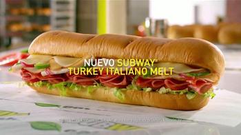Subway Turkey Italiano Melt TV Spot, 'Delicioso' [Spanish] - Thumbnail 9