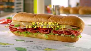 Subway Turkey Italiano Melt TV Spot, 'Delicioso' [Spanish] - Thumbnail 8