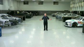 Hisense TV TV Spot, 'Joe Gibbs Racing' Ft. Denny Hamlin and Joe Gibbs - Thumbnail 1