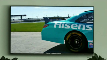 Hisense TV TV Spot, 'Joe Gibbs Racing' Ft. Denny Hamlin and Joe Gibbs - Thumbnail 3