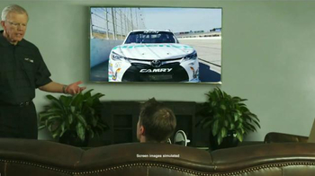 Hisense TV TV Spot, 'Joe Gibbs Racing' Ft. Denny Hamlin and Joe Gibbs
