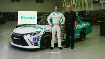 Hisense TV TV Spot, 'Joe Gibbs Racing' Ft. Denny Hamlin and Joe Gibbs - Thumbnail 6