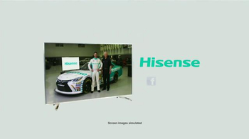 Hisense TV TV Spot, 'Joe Gibbs Racing' Ft. Denny Hamlin and Joe Gibbs - Thumbnail 7