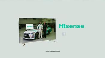 Hisense TV TV Spot, 'Joe Gibbs Racing' Ft. Denny Hamlin and Joe Gibbs - Thumbnail 7