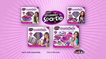 Cra Z Art Shimmer N Sparkle Crystal Craze Tv Commercial
