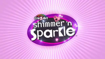 Cra-Z-Art Shimmer'n Sparkle CrystalCraze TV Spot, 'Design and Dazzle' - Thumbnail 1