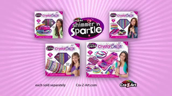 Cra-Z-Art Shimmer'n Sparkle CrystalCraze TV Spot, 'Design and Dazzle' - Thumbnail 7