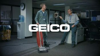 GEICO TV Spot, \'Cleaning Crew: Unskippable\'