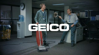 GEICO TV Spot, 'Cleaning Crew: Unskippable'