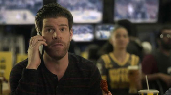 Buffalo Wild Wings TV Spot, 'Pizza to Your Home?' Feat. Stephen Rannazzisi - Thumbnail 4