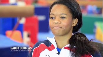 USA Gymnastics TV Spot, 'Gabby Douglas' - 10 commercial airings
