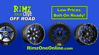 Rimz One TV Spot, 'Off Road Tires and Wheels' - Thumbnail 6
