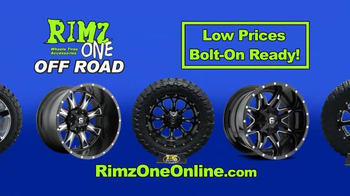 Rimz One TV Spot, 'Off Road Tires and Wheels' - Thumbnail 7