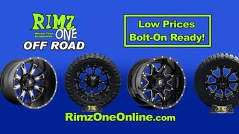 Rimz One TV Spot, 'Off Road Tires and Wheels' - Thumbnail 8