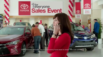 Toyota 1 for Everyone Sales Event TV Spot, 'Career Day' - Thumbnail 3