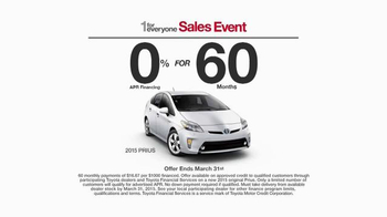 Toyota 1 for Everyone Sales Event TV Spot, 'Career Day' - Thumbnail 6